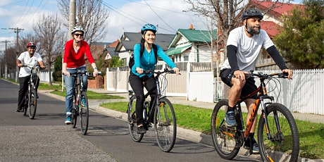ON-ROAD BIKE CONFIDENCE // City of Darebin   tickets