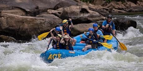 2020 Mini Adventure -- West Virginia Whitewater Rafting tickets