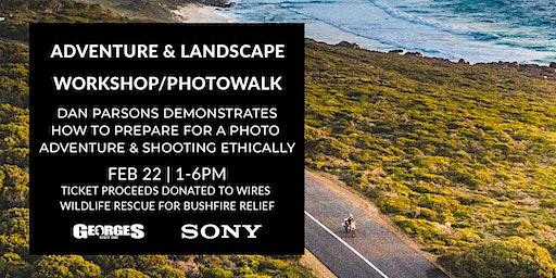 Adventure & Landscape Workshop with Dan Parsons | Bushfire Relief Event.