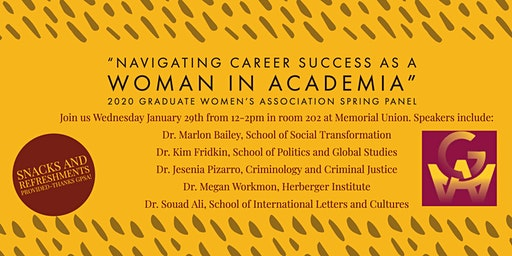 """Navigating Career Success as a Woman in Academia"""