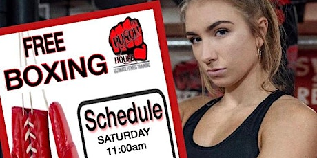 """FREE BOXING WORKOUT"" Saturday , Jan 25 tickets"