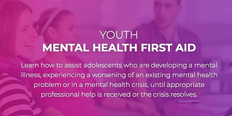 Youth Mental Health First Aid Training | Morwell location | 2 x 7 hours tickets