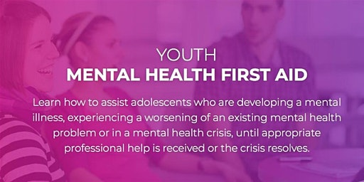 Youth Mental Health First Aid Training | Morwell location | 2 x 7 hours