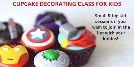 29 January - KIDS & ADULTS Kingsley: Cupcake Decorating Class tickets