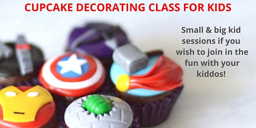 29 January - KIDS & ADULTS Kingsley: Cupcake Decorating Class