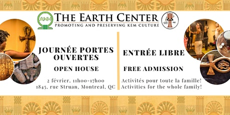 Journée portes ouvertes / Open House at the Earth Center Canada tickets