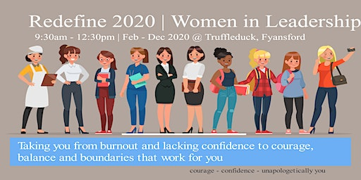 REDEFINE 2020 | Women in Leadership workshop series