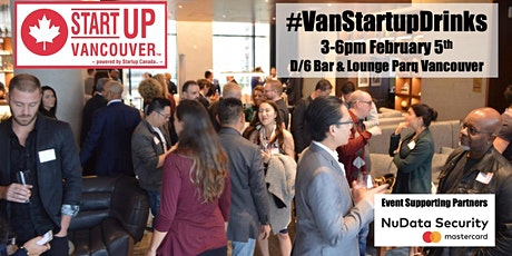 #VanStartupDrinks - Vancouver Entrepreneurship Social Mixer tickets