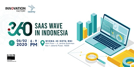 i360 : SaaS Wave in Indonesia tickets