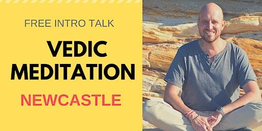 2020 Free Intro talk FEB - Vedic Meditation with Geoff Rupp - Newcastle-