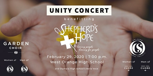 Unity Concert 2020: Benefiting Shepherd's Hope