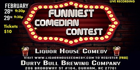 Funniest Comedian Competition tickets