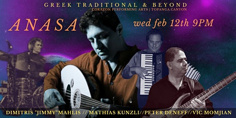 """Greek Traditional and Beyond   Oud player Dimitris """"Jimmy"""" Mahlis & Friends tickets"""