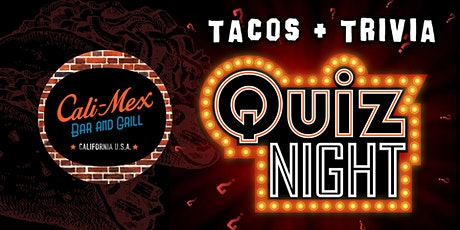 Tacos + Trivia | Quiz Night tickets
