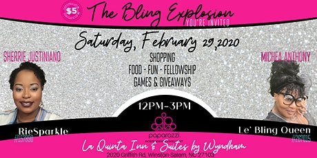 The Bling Explosion tickets