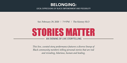 Stories Matter: An Evening of Live Storytelling
