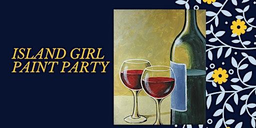 Island Girl at Rustic Cork Wine Bar