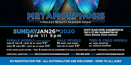 OPEN MODEL CASTING SEARCH THIS SUNDAY JANUARY 26TH 2020 billets