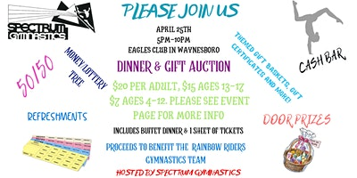 Gift Auction & Dinner Fundraiser