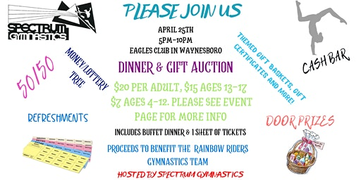 Gift Auction & Dinner Fundraiser