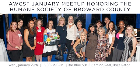 Women in Communications January MeetUp Honoring the Humane Society of Broward County tickets