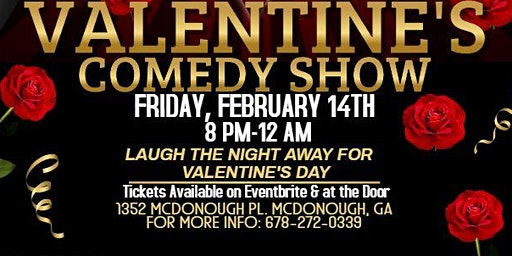 Valentine's Day  Comedy Show @ MB  EVENT LOUNGE  Feb 14th  /  8pm-12am