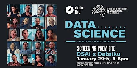 Data Science Pioneers Screening(DSAi x Dataiku) @ Microsoft tickets