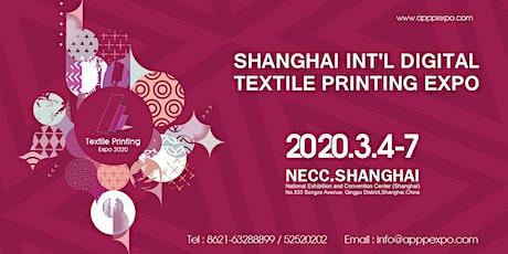Shanghai International Digital Textile Printing Expo tickets