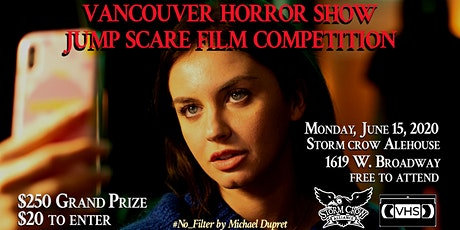 The VHS Jump Scare Short Film Competition tickets