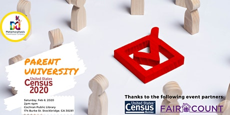 Parent University of Henry County: Understanding the 2020 Census tickets