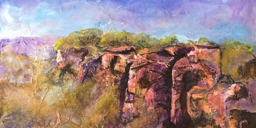 Landscape Mixed Media Workshop
