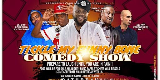 Tickle My Funny Bone Comedy Show  (Bordentown, NJ)