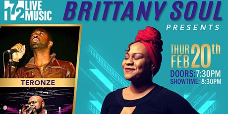Brittany Soul's  Spoken Soultry Experience Featuring Teronze & Big Sexy tickets