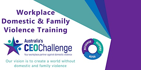 Workplace Domestic & Family Violence Training tickets