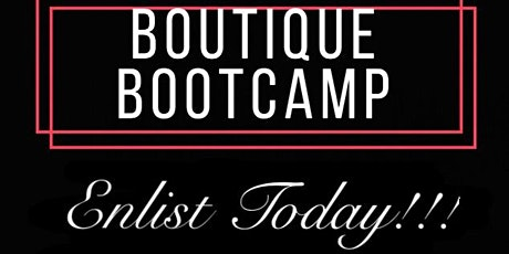 Boutique Bootcamp 101 2020 tickets