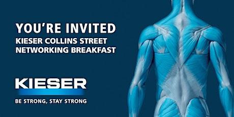 Kieser Collins Street Networking Breakfast Feb 2020 tickets
