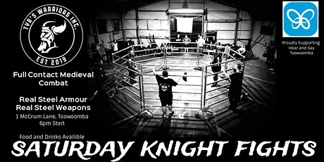 Saturday Knight Fights tickets