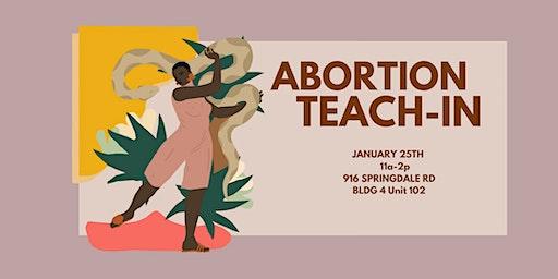 Abortion Teach In