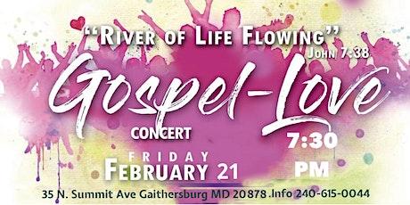 Love Gospel Concert tickets