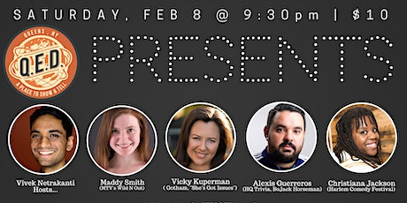 QED Presents: Alexis Guerreros, Christiana Jackson, Maddy Smith & more! tickets