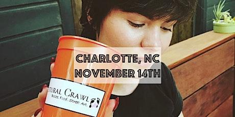 Cultural Crawl Charlotte, NC | Booze. Food. Street Art. - Bar Crawl tickets