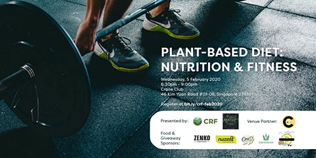 Plant-Based Diet: Nutrition and Fitness Session tickets