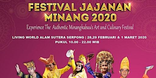 Pesta Kuliner Padang dan Pesta Budaya Minangkabau di Festival Jajanan Minang 2020