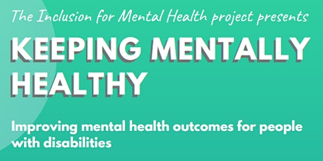 Keeping Mentally Healthy - West Perth tickets