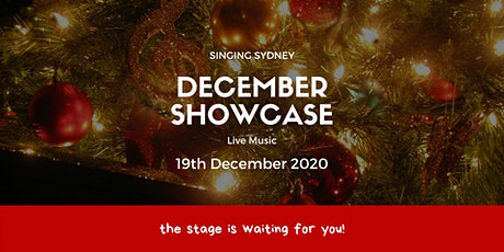 Singing Sydney: DECEMBER SHOWCASE tickets