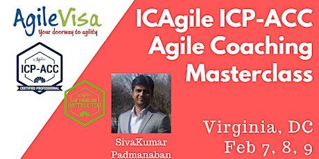 ICAgile ICP-ACC Agile Coach Certification Workshop - Virginia, DC tickets