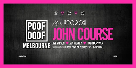 POOF DOOF - Melbourne2020 IGLA Event tickets