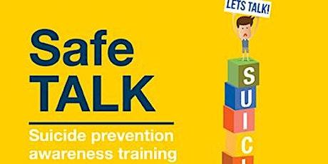 Safe TALK - Suicide Awareness Training tickets