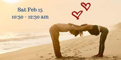 Valentine's Day Partner Yoga & Thai Massage tickets