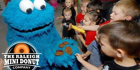 Mini Donuts with Cookie Monster tickets